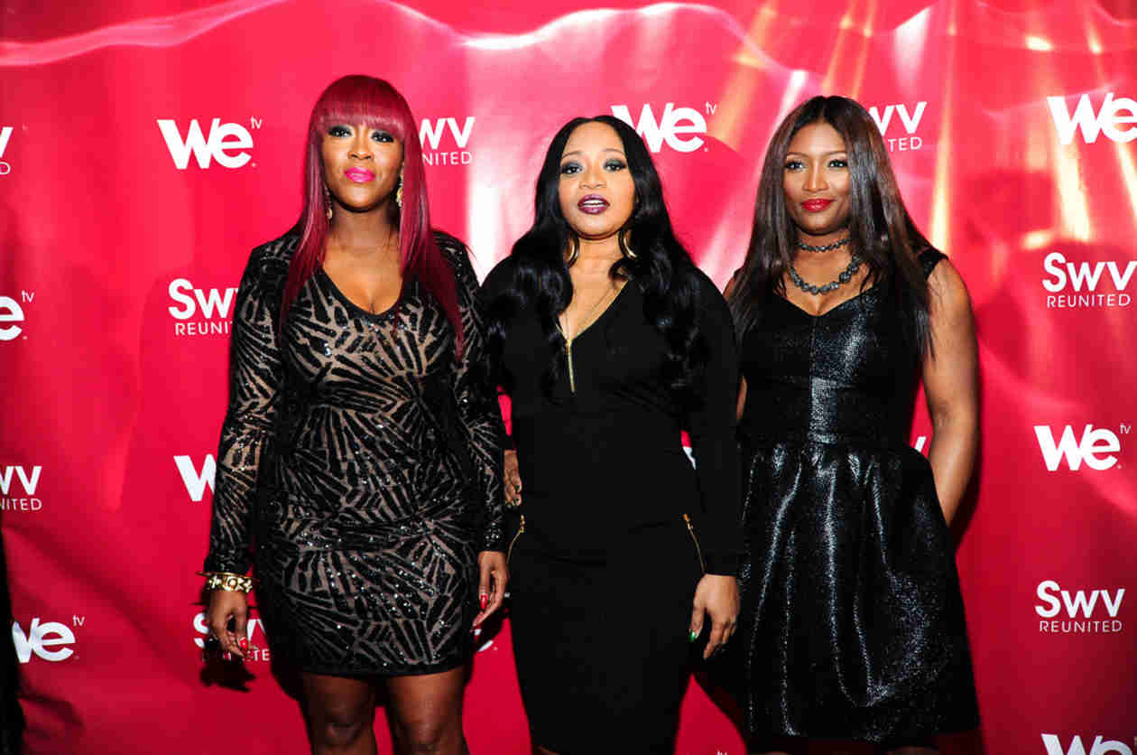 SWV Member Renews Wedding Vows After 10 Years of Marriage! (PHOTO)