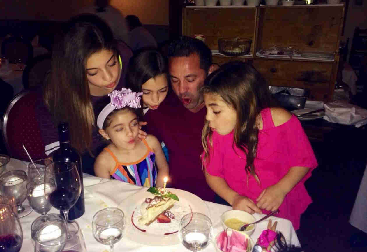 Joe Giudice Celebrates Birthday With His Girls