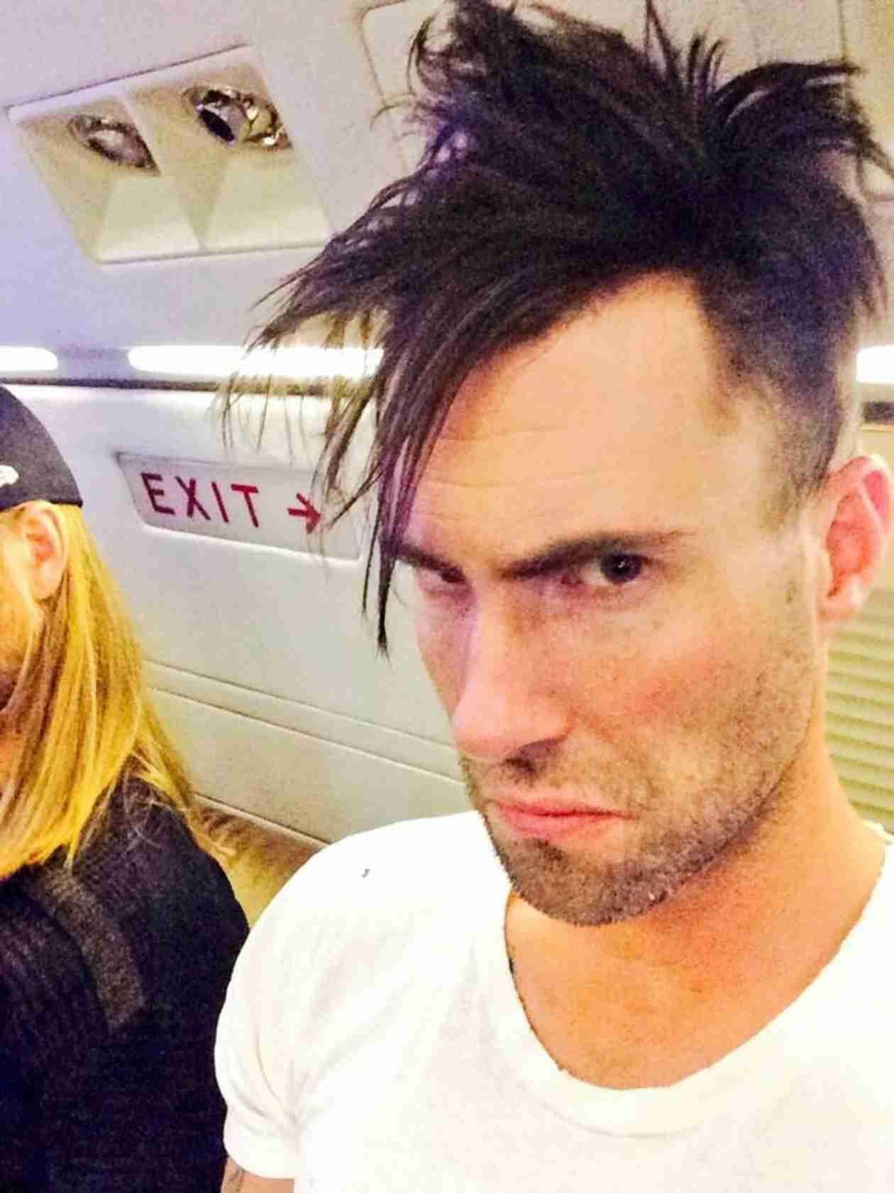 Whoa! Adam Levine Bleaches Hair Platinum Blond — Hot or Hate It? (VIDEO)