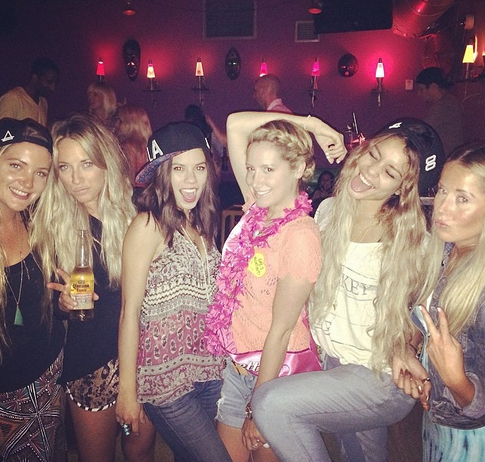 See Ashley Tisdale's Bachelorette Party Weekend With Vanessa Hudgens (PHOTOS)