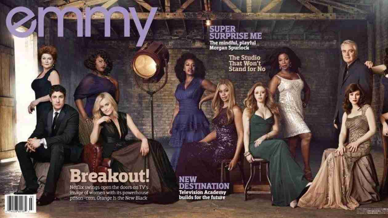 Orange Is the New Black Cast Nearly Unrecognizable on Cover of Emmy Magazine (PHOTO)