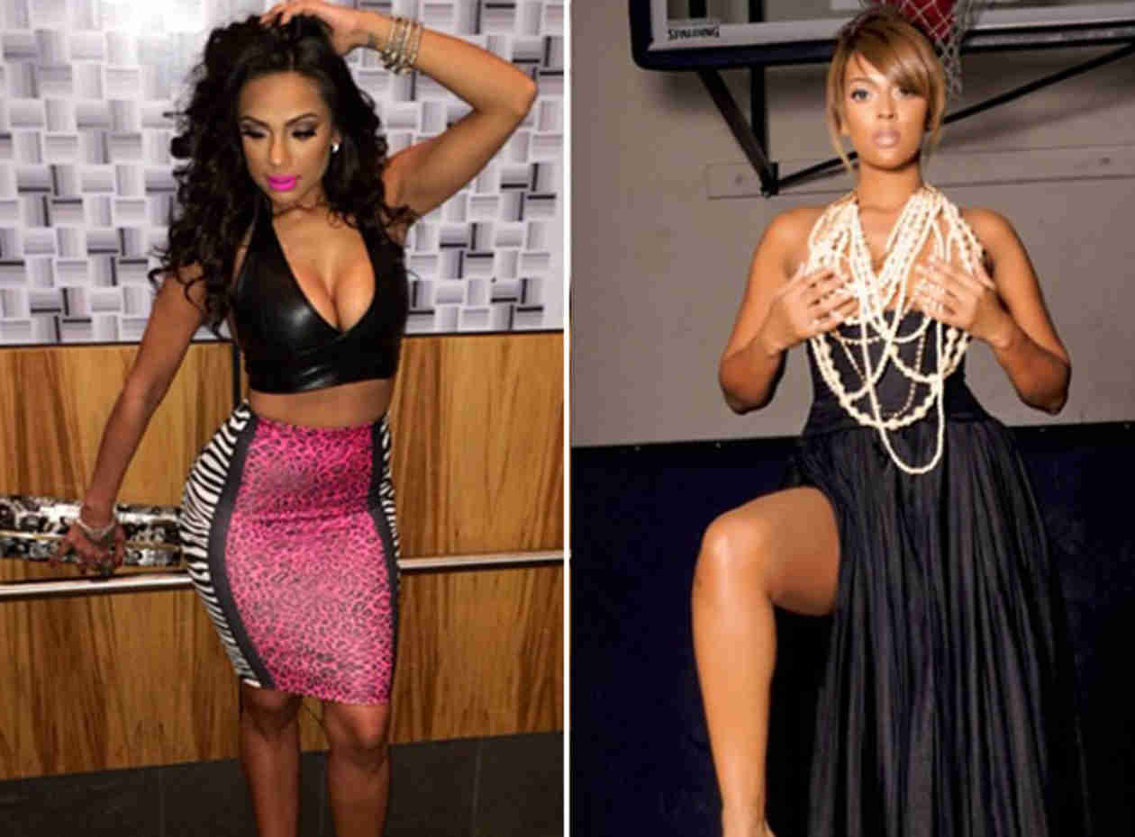 Love & Hip Hop's Erica Mena Slams Basketball Wives LA Star Sundy Carter on Twitter