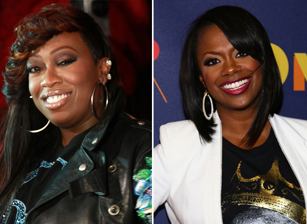 Missy Elliott and Kandi Burruss's Twitter Lovefest: Are They Collaborating?