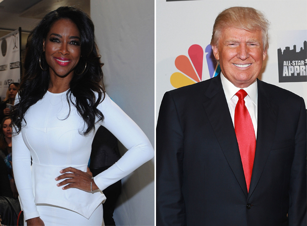 "Donald Trump Calls Kenya Moore ""The Most Evil Woman"" He's Ever Met — Report"