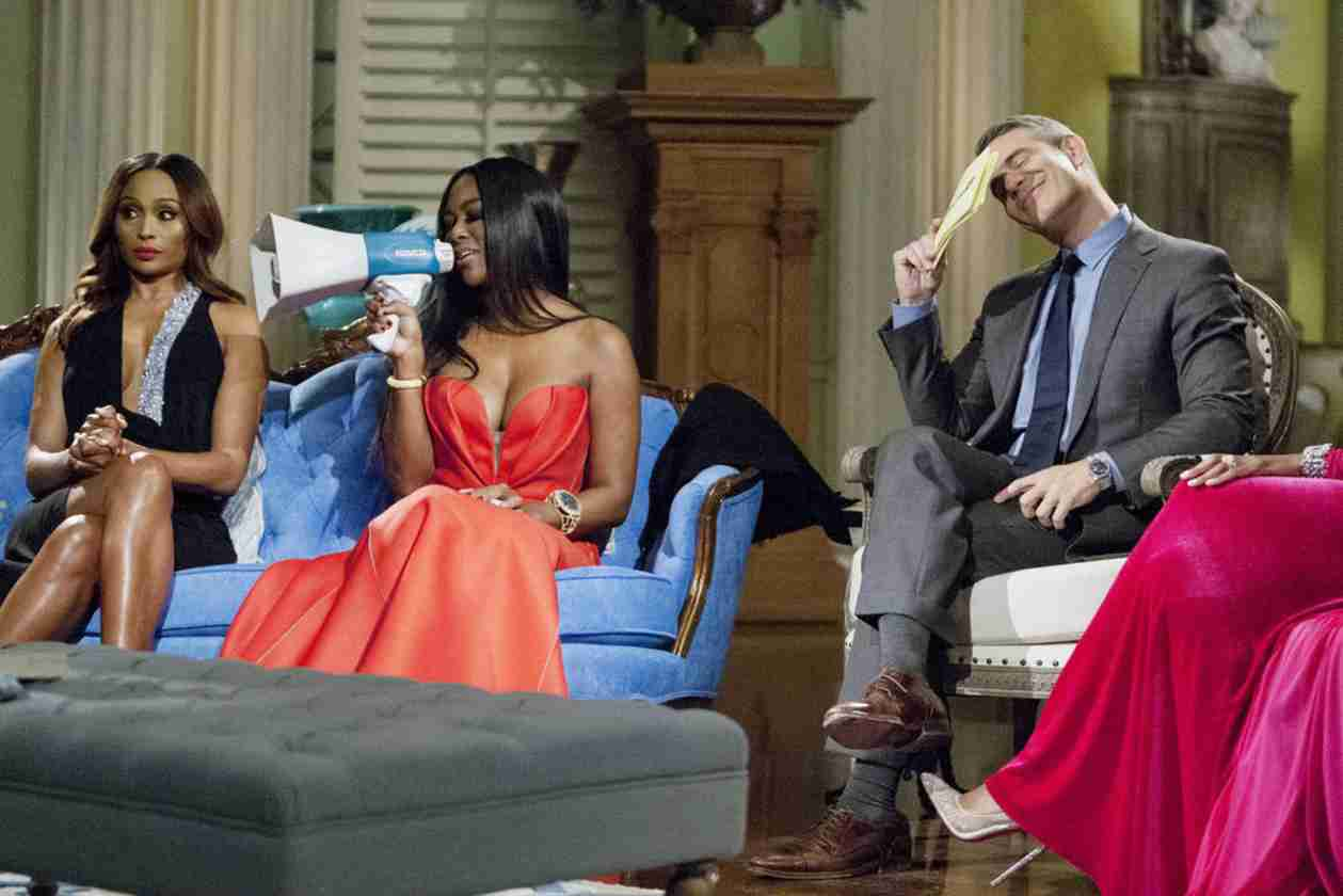Andy Cohen Explains Why Porsha Stewart Owes Kenya Moore an Apology