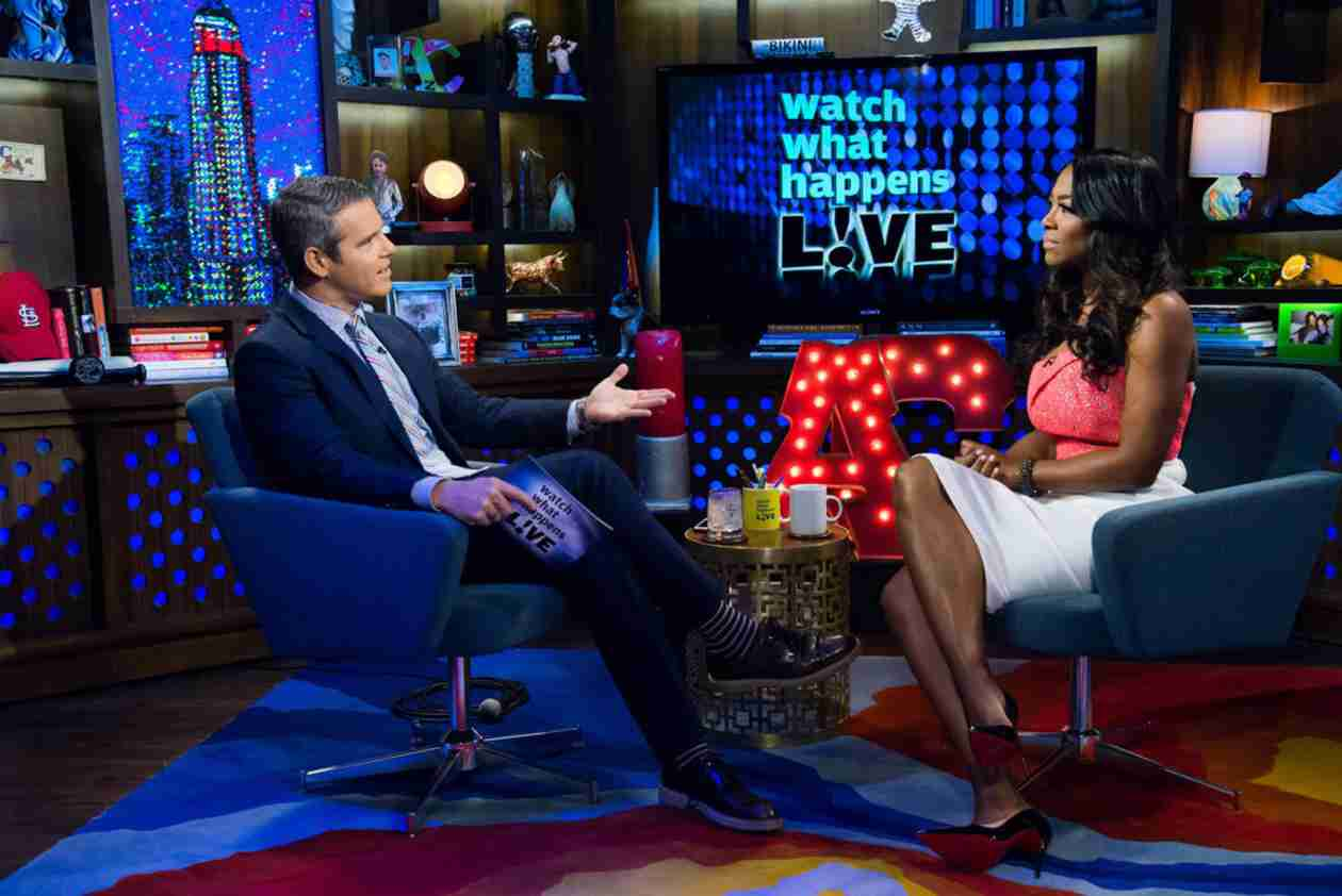 Kenya Moore Accuses Bravo and Andy Cohen of Making Her Look Bad in Reunion Fight (VIDEO)