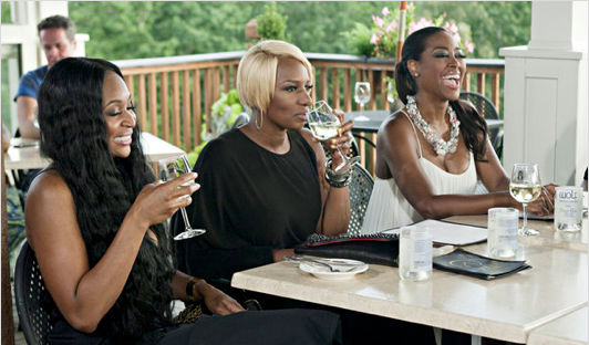 "NeNe Leakes Says Kenya Moore Won't Leave RHoA: ""She Hasn't Worked in 10 Years!"" (VIDEO)"