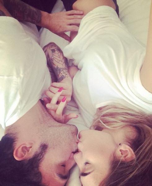 Pete Wentz's Girlfriend, Meagan Camper, Shows Off Her Baby Bump! (PHOTO)