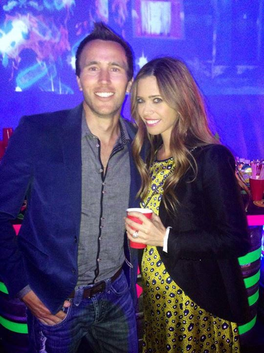 Lydia McLaughlin Celebrates 8-Year Anniversary With Husband Doug! (PHOTO)