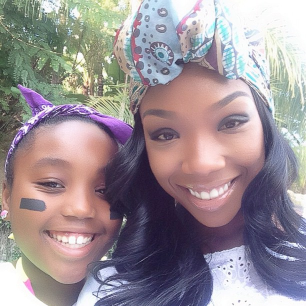 Brandy's Daughter Sy'Rai Follows in Mom's Footsteps — Hear Her Sing! (VIDEO)
