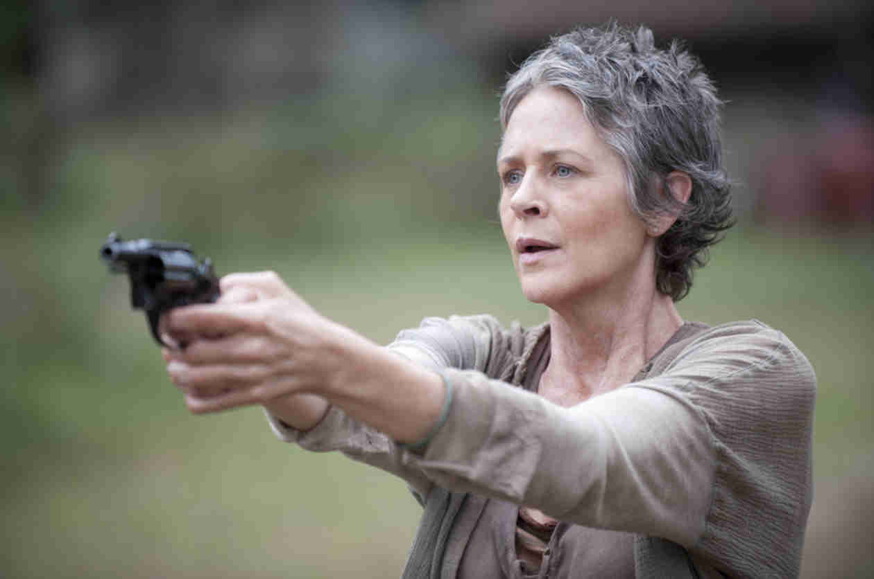 The Walking Dead: Melissa McBride Nominated For 2014 Critics' Choice Television Award!
