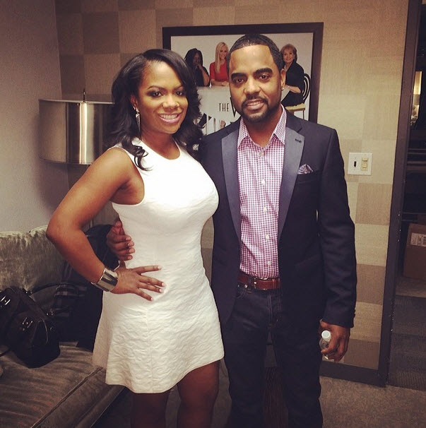 Todd Tucker Poses With Breast Implant — Is It For Kandi Burruss? (PHOTO)