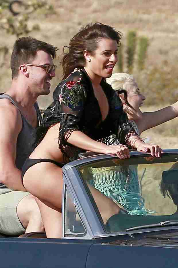 "Lea Michele's Rumored Relationship With Matthew Paetz: ""She's Having Fun"" (VIDEO)"