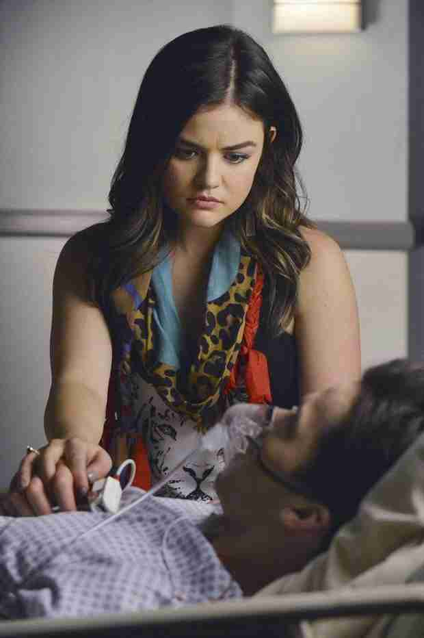 Pretty Little Liars Season 5: Lucy Hale and Ian Harding on Ezria's Rocky Future — Exclusive