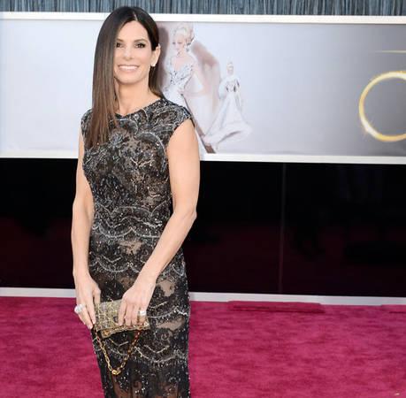 "Sandra Bullock Makes Hilarious ""Decade of Hotness"" Speech at 2014 Guys' Choice Awards"