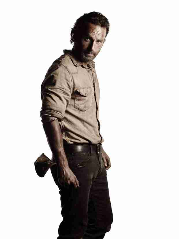 The Walking Dead Season 5: Andrew Lincoln Filming With Green Screen Arm? Not So Fast!