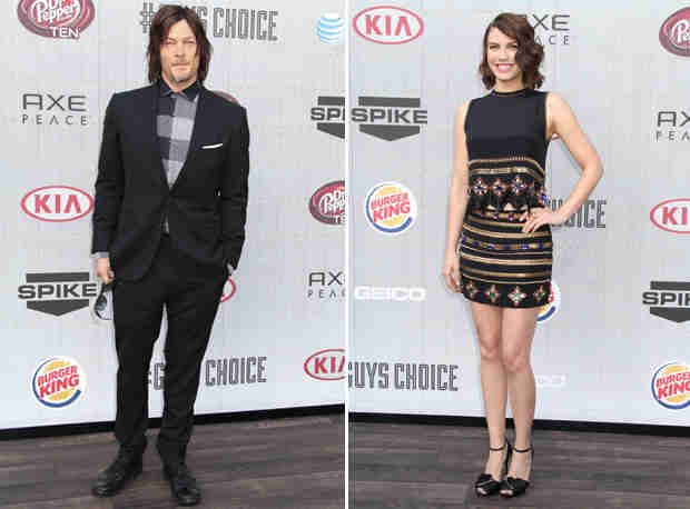 Norman Reedus and Lauren Cohan on Winning Their Mantlers — We Have a New Weapon! (VIDEO)