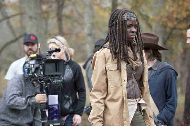 "The Walking Dead Season 5: ""It Moves Very Quickly,"" Says Danai Gurira"