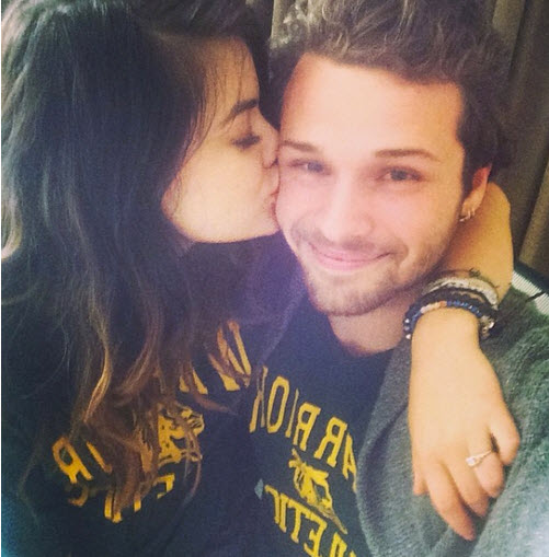 Lucy Hale and Boyfriend Joel Crouse Snuggle Up (PHOTO)