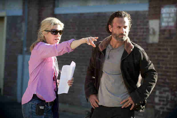 The Walking Dead Producers Didn't Know Andrew Lincoln Was British!