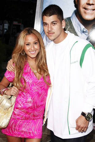 Is Adrienne Bailon Trying to Save Her Ex-Boyfriend, Rob Kardashian?