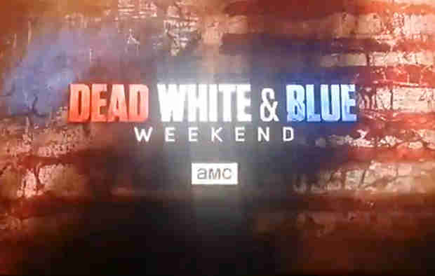 "The Walking Dead 2014: Watch AMC's ""Dead, White & Blue"" Weekend Promo (VIDEO)"