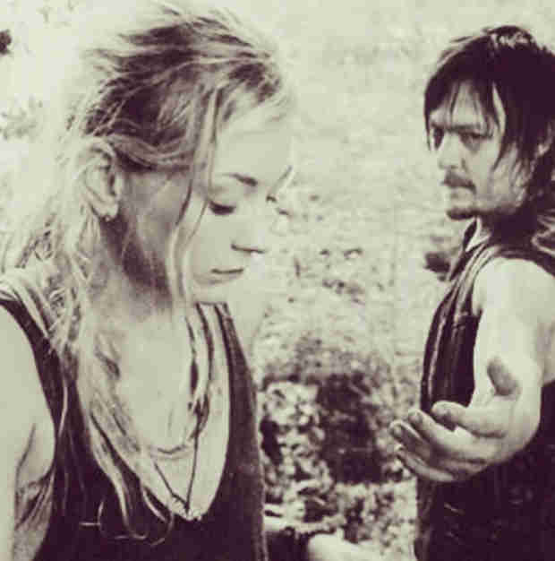 Emily Kinney, Norman Reedus Both Post Beth and Daryl Photos — Season 5 Hints?