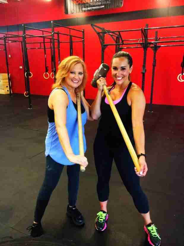 Caroline Manzo Hits the Gym — For Her New Show! (PHOTO)