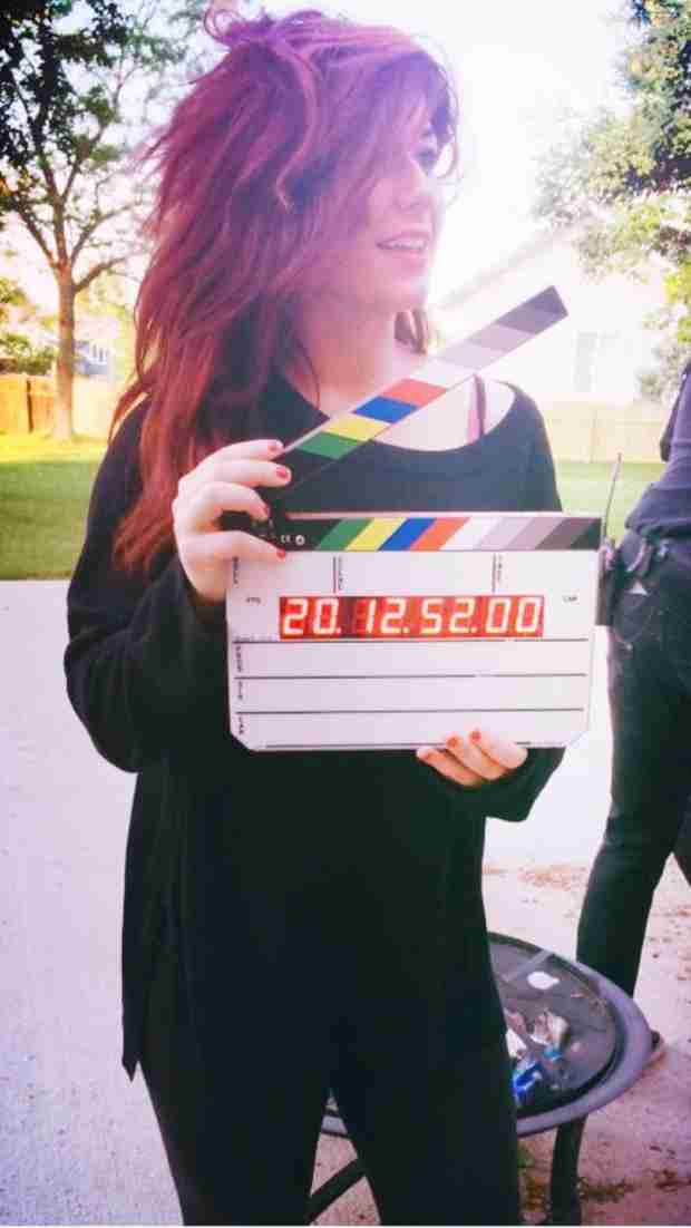 Chelsea Houska Tweets Photo of Herself Filming — Is MORE Teen Mom Coming Our Way? (PHOTO)