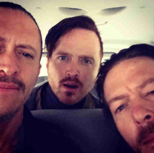"Norman Reedus, Aaron Paul Movie Triple Nine Will ""Blow All of Your Minds"" — See Set Photos"
