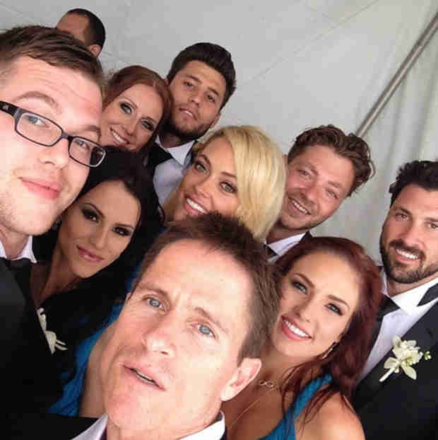 DWTS Pro Gets Married! See Maks, Peta, Sharna at Wedding (PHOTOS)