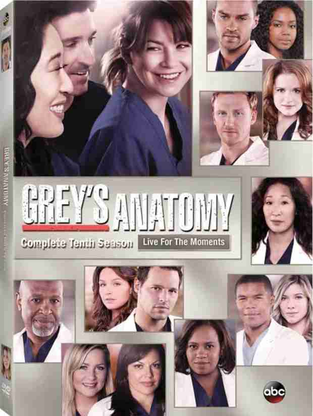 Grey's Anatomy Season 10 DVD Box Art, Release Date, and Bonus Features Revealed!