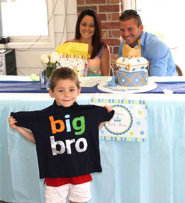 Jenelle Evans's Son Jace Can't Wait to Be a Big Brother! (PHOTO)