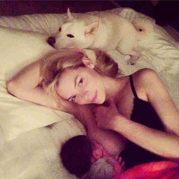 "Jaime King Shares a Breastfeeding Photo and Says It ""Should Not Be Taboo"" (VIDEO)"