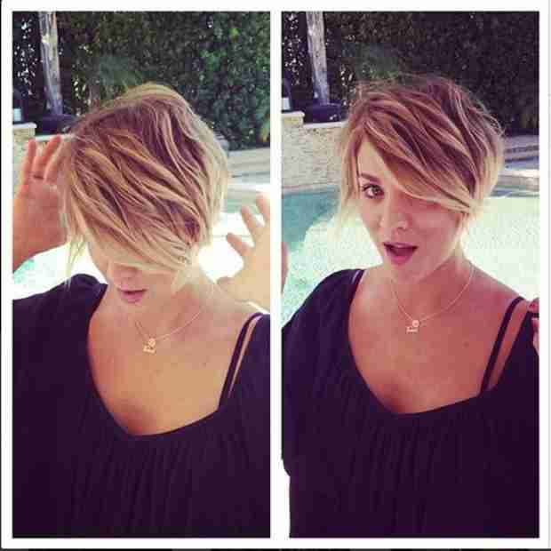 Kaley Cuoco's Shocking New Pixie Cut Hairstyle — Hot or Not? (VIDEO)