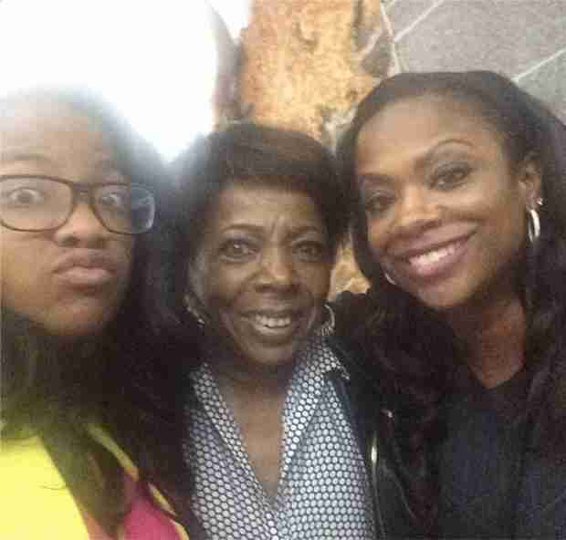 "Kandi Burruss Declares: ""I Love My Mother-in-Law"""