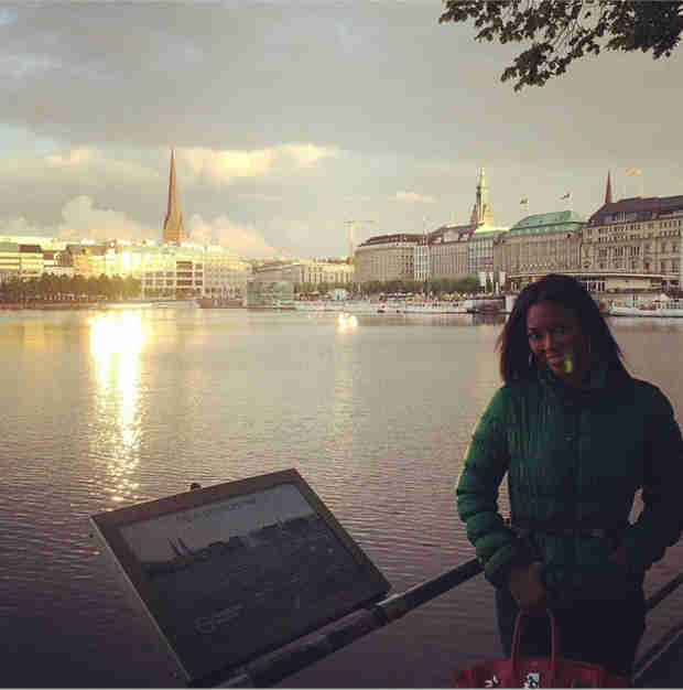Kenya Moore's Romantic European Adventure — See the Pics! (PHOTOS)