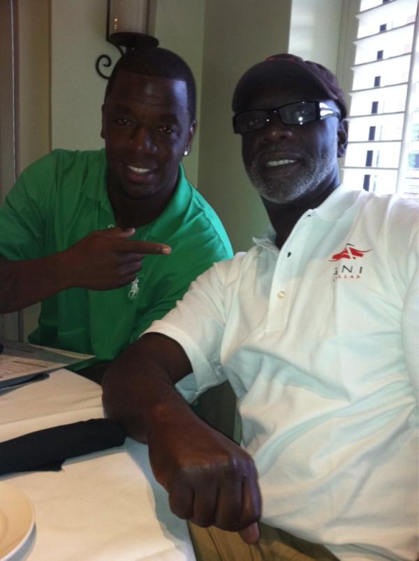 Peter Thomas and Kordell Stewart Are Going Into Business Together!