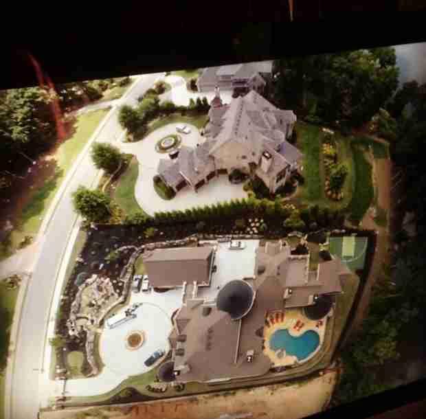 Kroy Biermann Buys a Drone, Flies Over His Atlanta Mansion