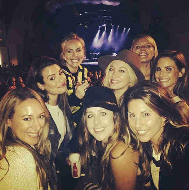 Lea Michele Sees Pharrell and Bruno Mars in Concert With Famous Pals (PHOTO)