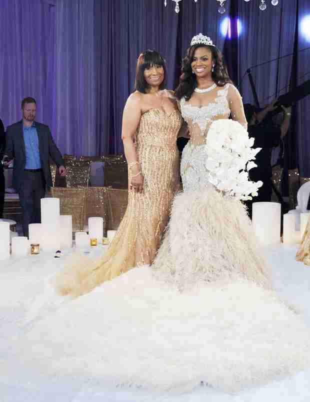 Kandi Burruss and Mama Joyce Aren't Speaking, But it's Not Because of Todd Tucker! (VIDEO)