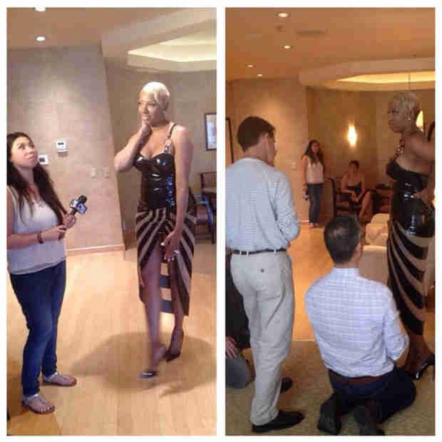 NeNe Leakes Shares Pictures of Her Sexy Zumanity Wardrobe (PHOTOS)