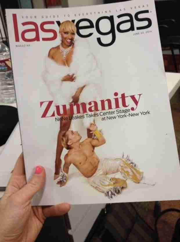 NeNe Leakes's Risque Las Vegas Magazine Cover — Check It Out! (PHOTO)
