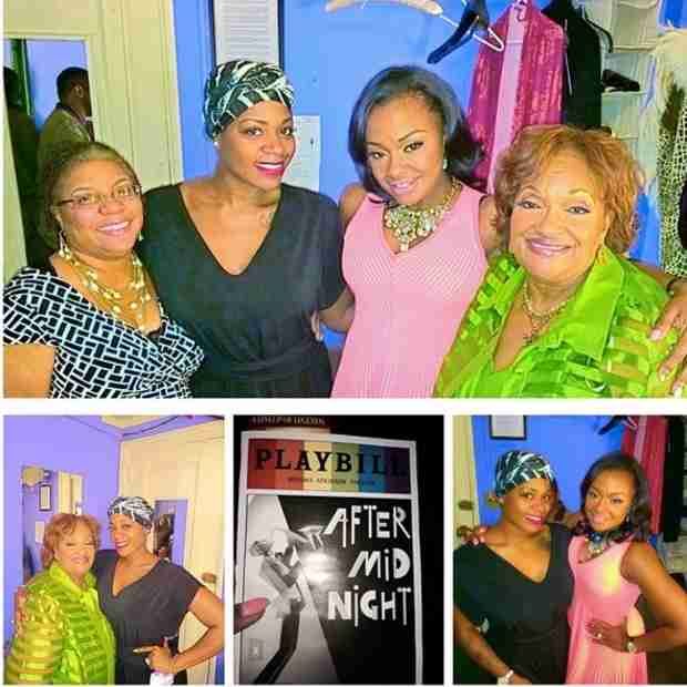 Phaedra Parks Supports Fantasia on Broadway — See Them Backstage! (PHOTO)