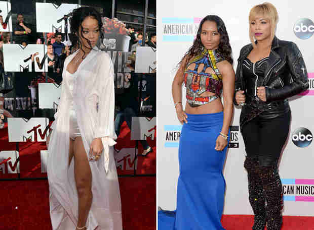 TLC Responds to Rihanna's Online Jab: Talk to Us, Don't Start a Twitter War