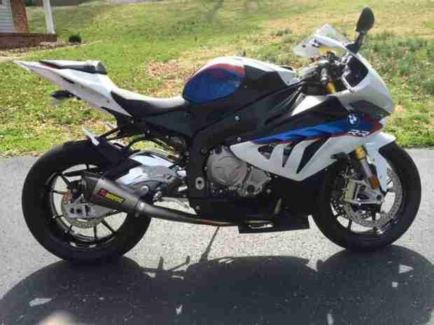 Ryan Edwards Bought a New BMW Motorcycle! (PHOTO)