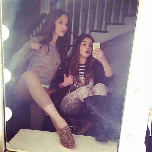 Troian Bellisario Is Not Into Competing Against Lucy Hale For 2014 Teen Choice Award