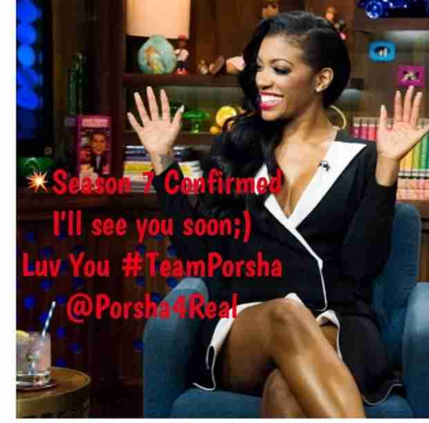 Real Housewives of Atlanta: Porsha Stewart Confirms Season 7 Return!