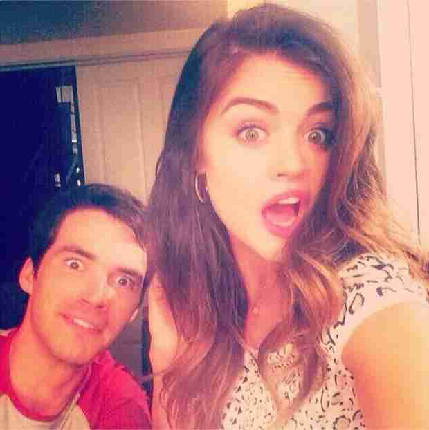 Lucy Hale and Ian Harding Are Definitely the Cutest Co-Stars (PHOTO)