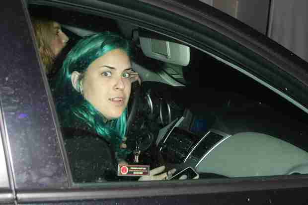 Tallulah Willis Dyes Her Hair Nickelodeon Green (PHOTO)